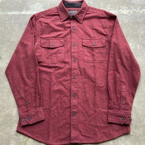 Grizzly Mountain Men's Flannel Chamois Shirt